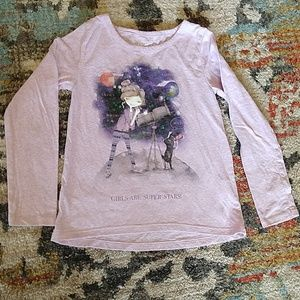 Girls children's place long sleeve tee